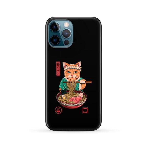 Maneki Neko Ramen Cat Anime for Cute iPhone 12 Pro Max Case Cover