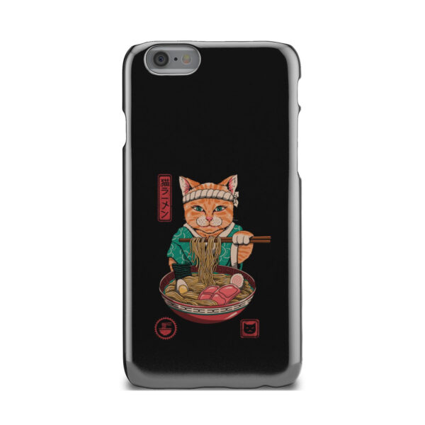 Maneki Neko Ramen Cat Anime for Cute iPhone 6 Case