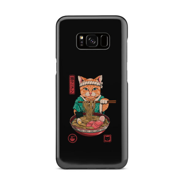 Maneki Neko Ramen Cat Anime for Premium Samsung Galaxy S8 Plus Case Cover