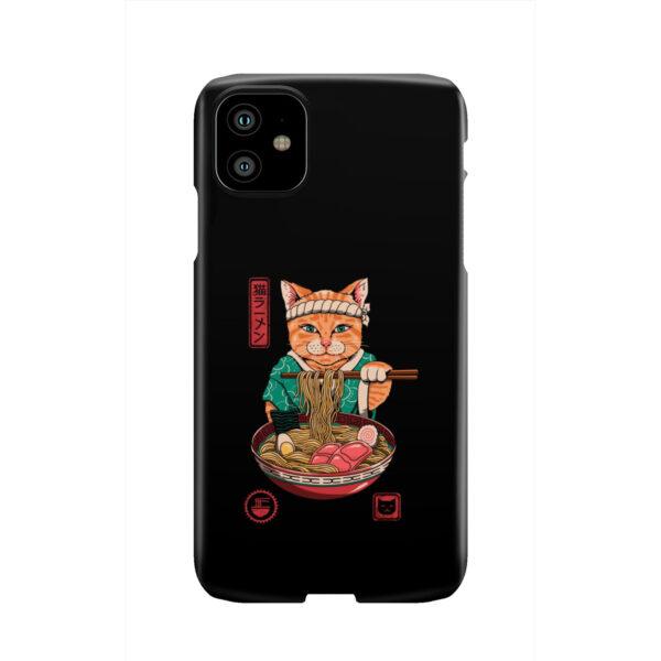 Maneki Neko Ramen Cat Anime for Simple iPhone 11 Case
