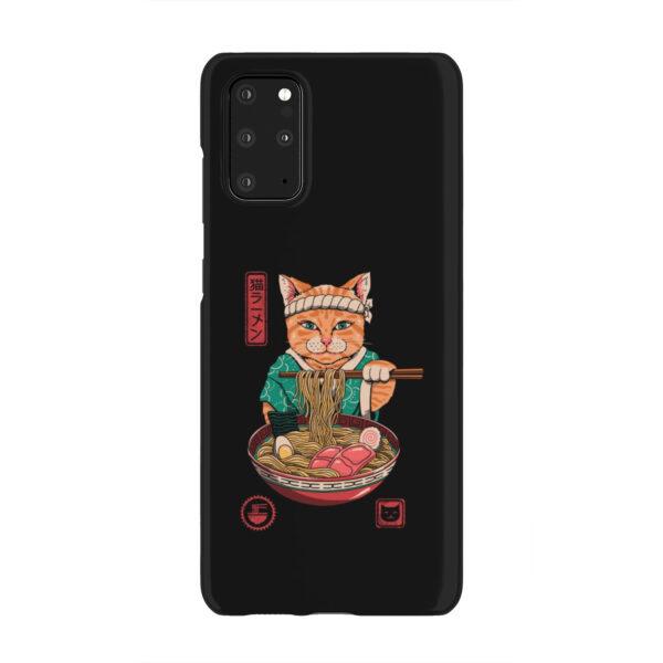 Maneki Neko Ramen Cat Anime for Trendy Samsung Galaxy S20 Plus Case