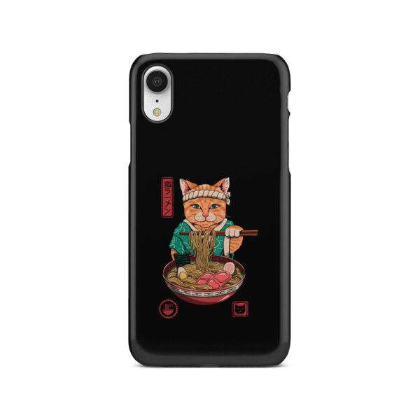 Maneki Neko Ramen Cat Anime for Unique iPhone XR Case Cover