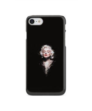 Marilyn Monroe Art for Personalised iPhone SE 2020 Case