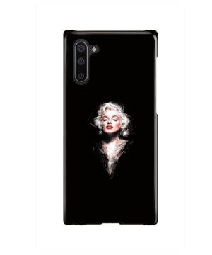 Marilyn Monroe Art for Simple Samsung Galaxy Note 10 Case