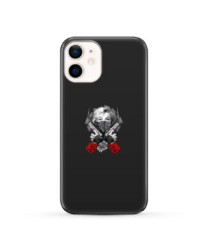 Marilyn Monroe Gangsta for Premium iPhone 12 Case Cover