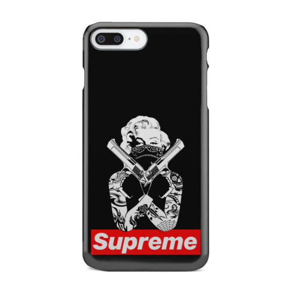Marilyn Monroe Supreme Gangster for Beautiful iPhone 7 Plus Case Cover