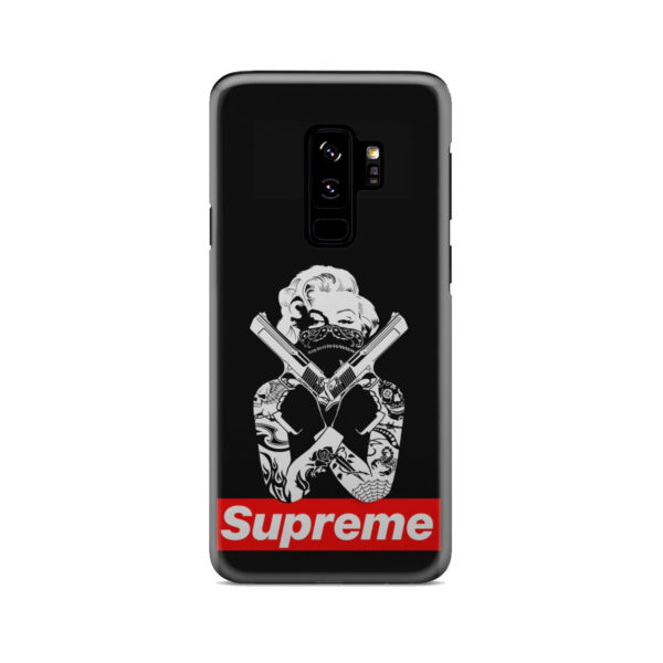 Marilyn Monroe Supreme Gangster for Cool Samsung Galaxy S9 Plus Case Cover