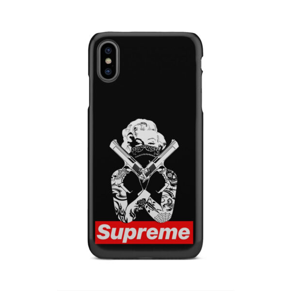 Marilyn Monroe Supreme Gangster for Premium iPhone XS Max Case
