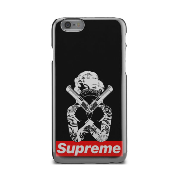 Marilyn Monroe Supreme Gangster for Stylish iPhone 6 Case