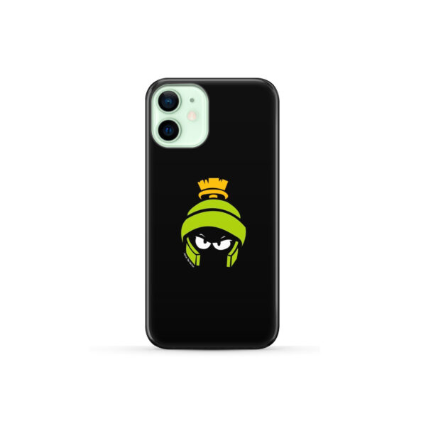 Marvin The Martian Face for Personalised iPhone 12 Mini Case