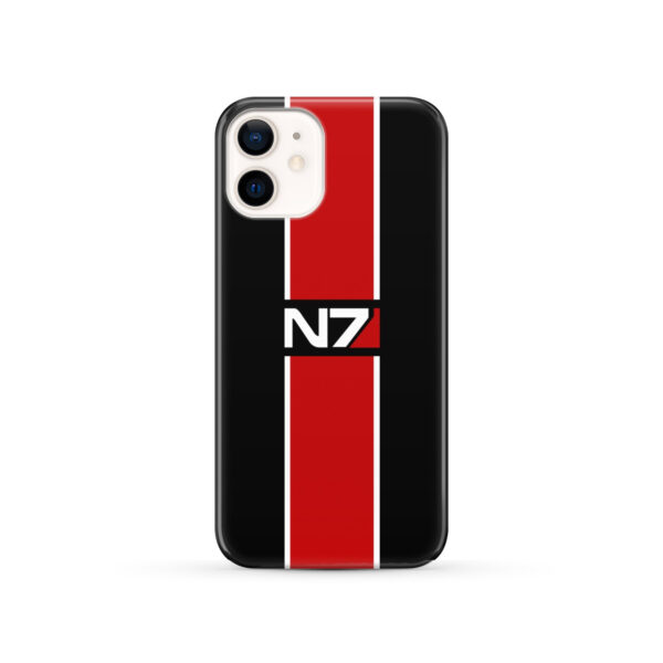 Mass Effect N7 Logo for Beautiful iPhone 12 Case Cover