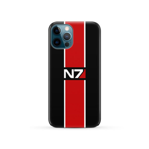 Mass Effect N7 Logo for Best iPhone 12 Pro Case Cover
