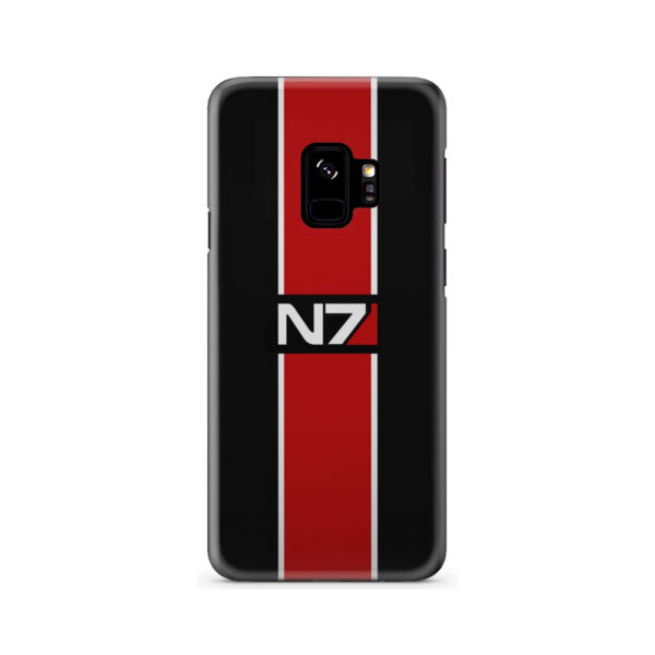 Mass Effect N7 Logo for Cool Samsung Galaxy S9 Case