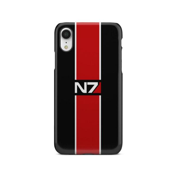 Mass Effect N7 Logo for Cute iPhone XR Case