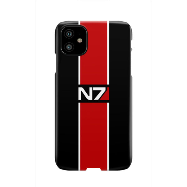 Mass Effect N7 Logo for Simple iPhone 11 Case Cover