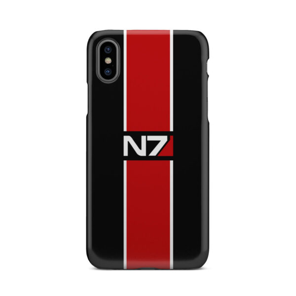 Mass Effect N7 Logo for Simple iPhone X / XS Case