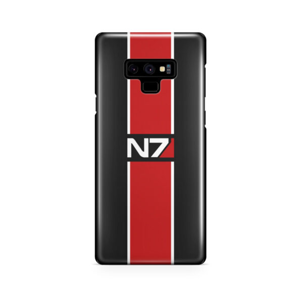 Mass Effect N7 Logo for Simple Samsung Galaxy Note 9 Case Cover