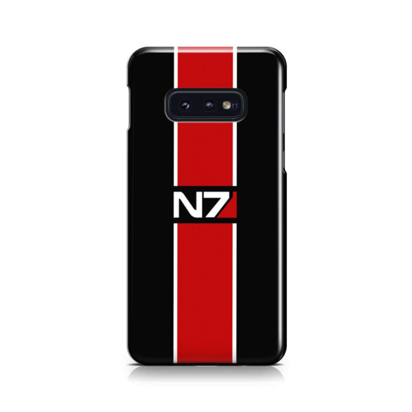 Mass Effect N7 Logo for Stylish Samsung Galaxy S10e Case Cover