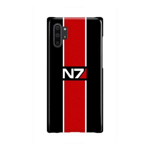 Mass Effect N7 Logo for Unique Samsung Galaxy Note 10 Plus Case