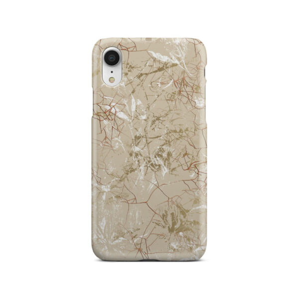 Matte Marble for Cool iPhone XR Case