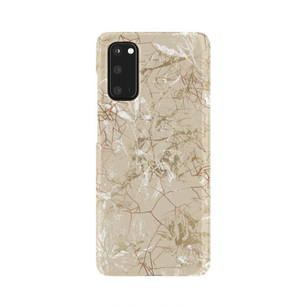 Matte Marble for Trendy Samsung Galaxy S20 Case