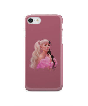 Melanie Martinez Face for Trendy iPhone SE 2020 Case Cover