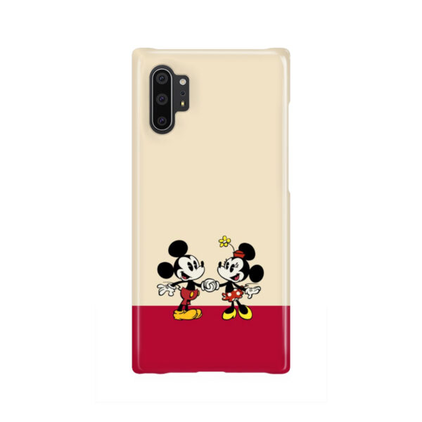 Mickey and Minnie Mouse Love for Beautiful Samsung Galaxy Note 10 Plus Case