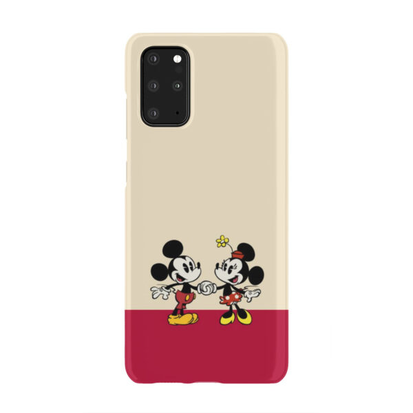 Mickey and Minnie Mouse Love for Beautiful Samsung Galaxy S20 Plus Case