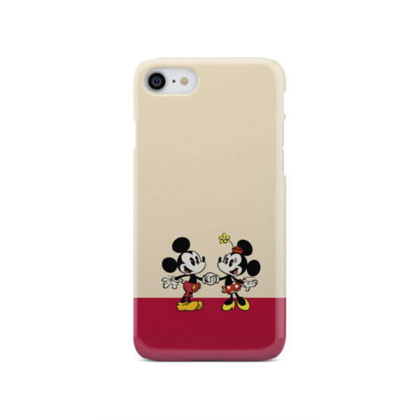 Mickey and Minnie Mouse Love for Best iPhone SE 2020 Case Cover
