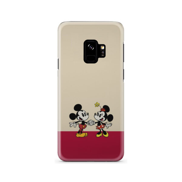 Mickey and Minnie Mouse Love for Best Samsung Galaxy S9 Case Cover
