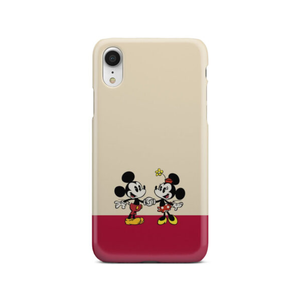 Mickey and Minnie Mouse Love for Cool iPhone XR Case