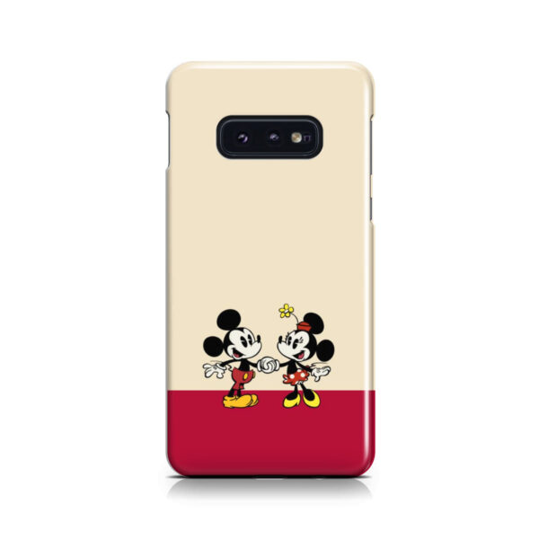 Mickey and Minnie Mouse Love for Cool Samsung Galaxy S10e Case