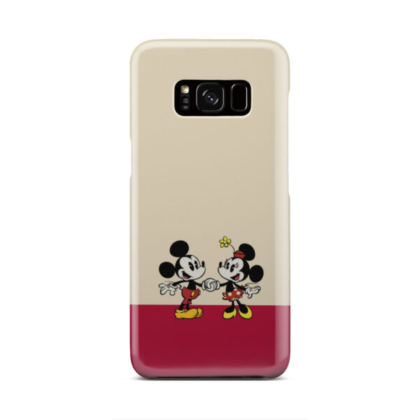 Mickey and Minnie Mouse Love for Cool Samsung Galaxy S8 Case Cover
