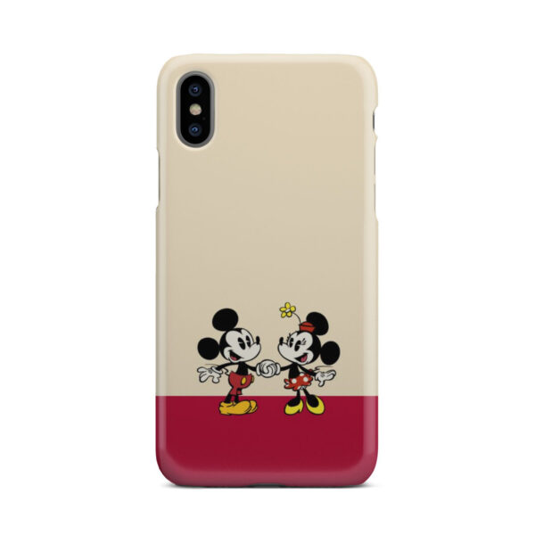 Mickey and Minnie Mouse Love for Customized iPhone X / XS Case Cover