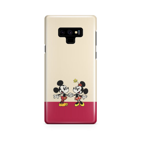 Mickey and Minnie Mouse Love for Cute Samsung Galaxy Note 9 Case