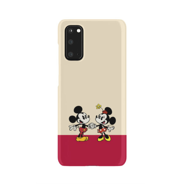 Mickey and Minnie Mouse Love for Newest Samsung Galaxy S20 Case
