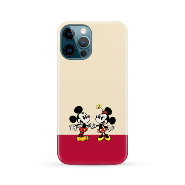 Mickey and Minnie Mouse Love for Nice iPhone 12 Pro Max Case Cover