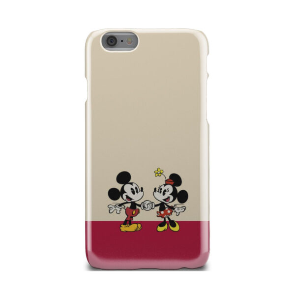 Mickey and Minnie Mouse Love for Simple iPhone 6 Case Cover
