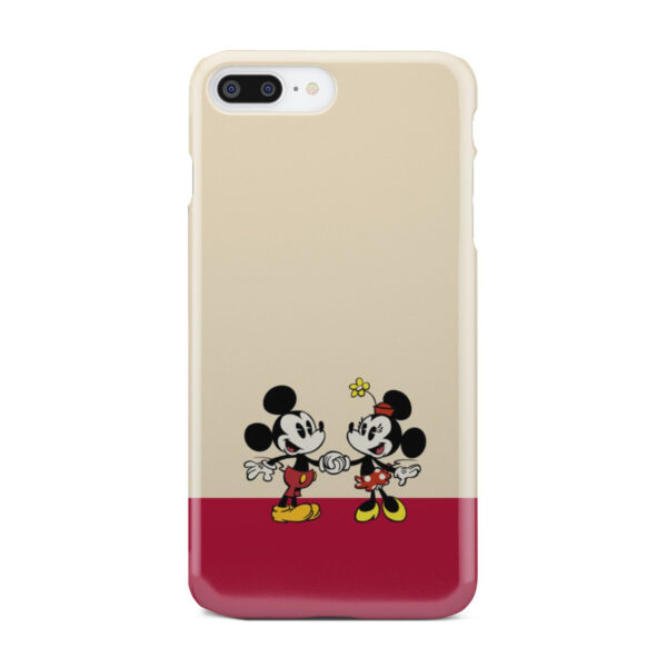 Mickey and Minnie Mouse Love for Simple iPhone 8 Plus Case