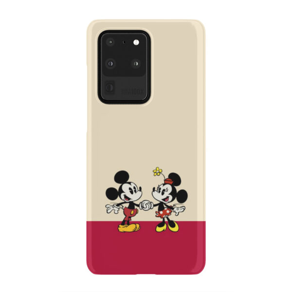 Mickey and Minnie Mouse Love for Simple Samsung Galaxy S20 Ultra Case