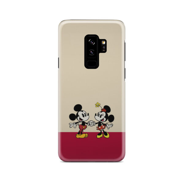 Mickey and Minnie Mouse Love for Stylish Samsung Galaxy S9 Plus Case Cover
