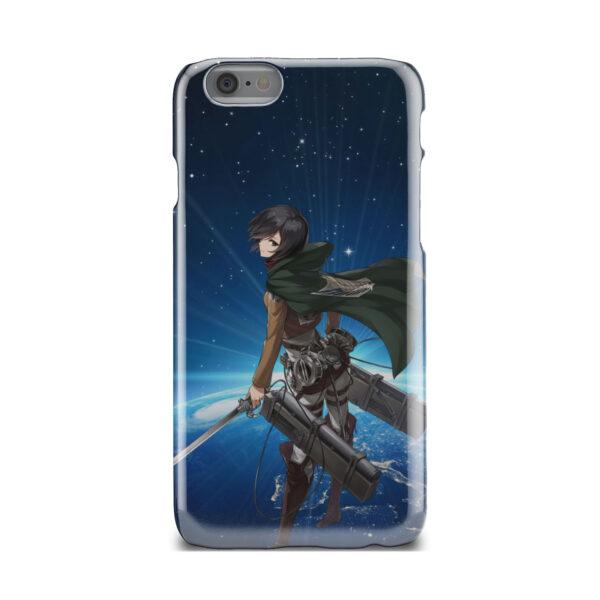 Mikasa Ackerman Attack on Titan for Beautiful iPhone 6 Case