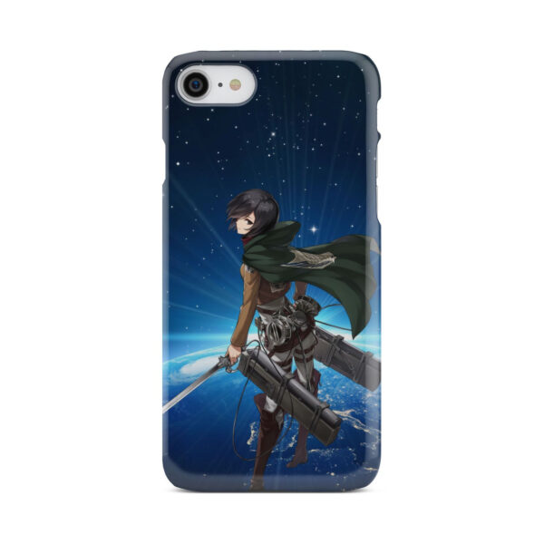 Mikasa Ackerman Attack on Titan for Best iPhone 8 Case Cover