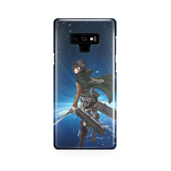 Mikasa Ackerman Attack on Titan for Cool Samsung Galaxy Note 9 Case