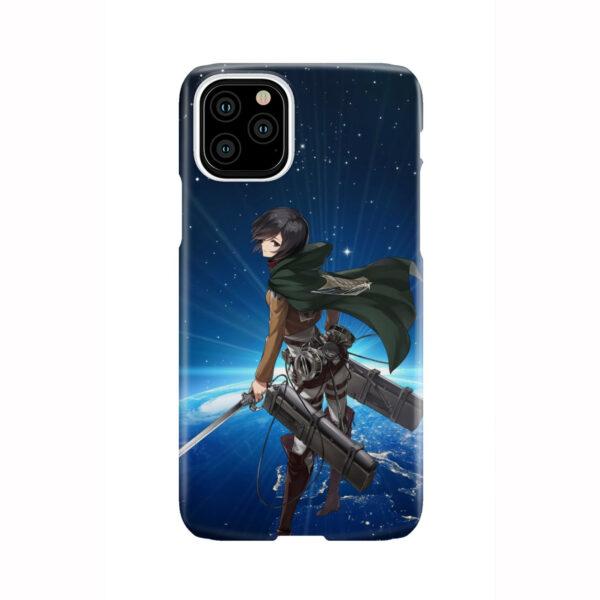 Mikasa Ackerman Attack on Titan for Cute iPhone 11 Pro Case Cover