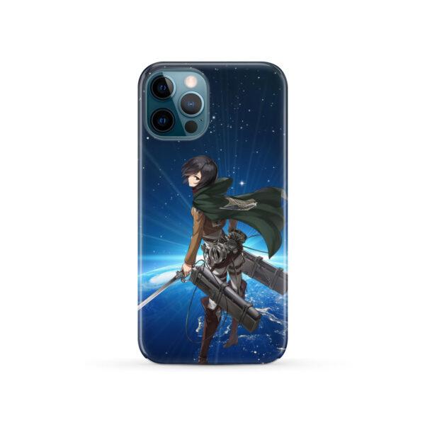 Mikasa Ackerman Attack on Titan for Cute iPhone 12 Pro Case