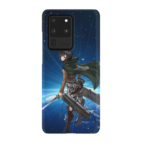 Mikasa Ackerman Attack on Titan for Cute Samsung Galaxy S20 Ultra Case Cover