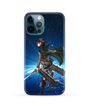 Mikasa Ackerman Attack on Titan for Newest iPhone 12 Pro Max Case Cover