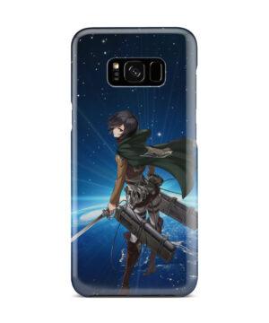 Mikasa Ackerman Attack on Titan for Premium Samsung Galaxy S8 Plus Case