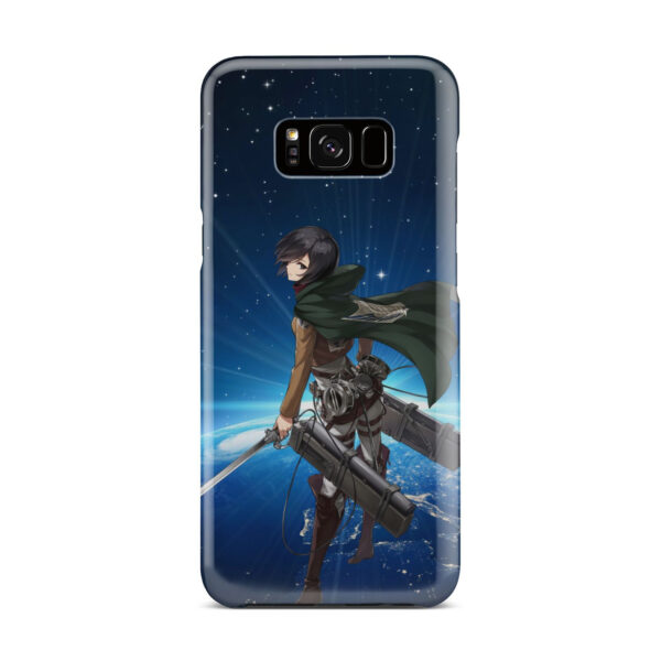 Mikasa Ackerman Attack on Titan for Premium Samsung Galaxy S8 Plus Case